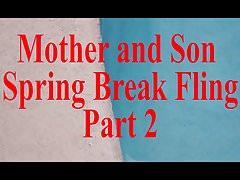 Mother Son Spring Break Sex POV part 2