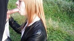 deepthroat in public outdoor