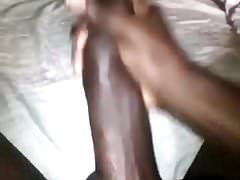 Big Black Cock Releases Cum