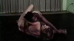 70's interracial Catfight (No Audio)