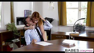 Babes - Office Obsession - Naked Lunch starring Kai Taylor a