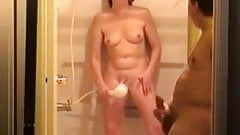 to show each other masturbate