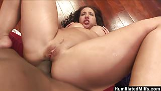 HumiliatedMilfs - Oiled up Kelly ready for a big black cock.