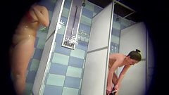 Spy Cam in Plublic Showers - Sexy & Wet Girls