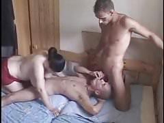 Bisex mmf 3some