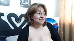 Mature saggy tits webcam