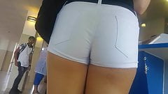 Trainstation hungarian young woman perfect ass