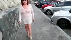 Solo #53 (Granny GILF Three Videos Naked in Public)
