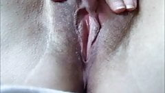 Close up masturbation with pussy orgasm