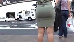 SEXY PHAT BUTT IN TIGHT SKIRT