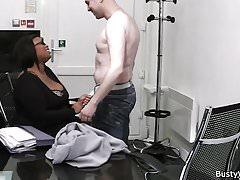 His fuck busty ebony plumper for the job
