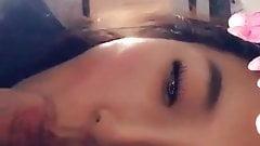 naked asian girl sunbather