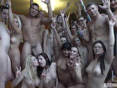 Huge Czech Harem GangBang