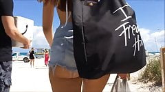 awesome Big ass at the beach 2015