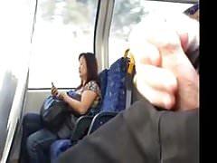 Seen transport wanker cums.flv