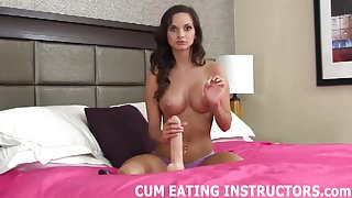 Will you eat the cum when you jerk off to me CEI