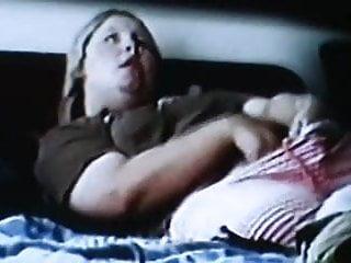 spycam spied blonde rubing clit shaking orgasm