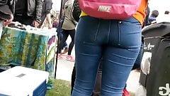 Nice Teen Jeans Butt