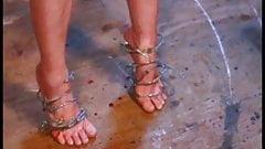 Wonderful feet torture