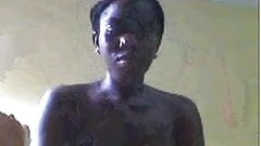 african girl at cam part 3