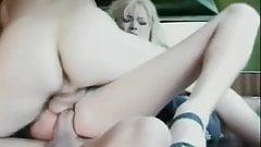 Cute Blond Milf Double Vaginal