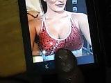 WWE Sonya Deville Cumtribute