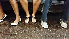 Candid ebony feet w upskirt's Thumb