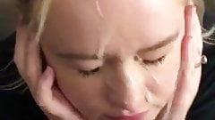 blonde nice facial 2