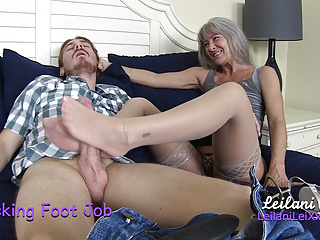 Stockings Foot Job
