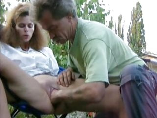 Couple Fisting Outdoor Style
