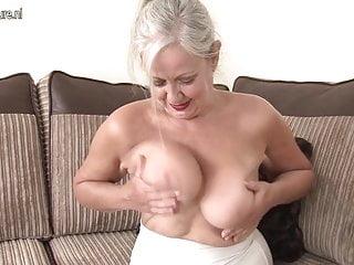 Superb Granny with amazing body