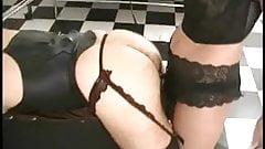 Mistress rides his ass