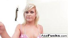 Asa Teaches Kelly How To Be Naughty