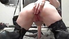 Check My MILF gothig granny stretching her lose pussy even's Thumb