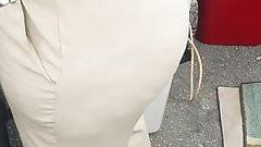 Big candid haitian booty