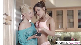 Babes - Fireworks starring Aaliyah Love and Alyssa Reece cli