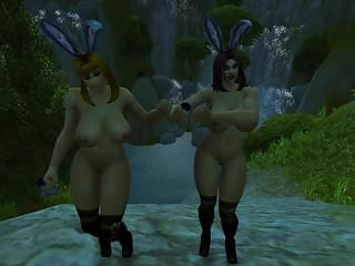 Preview 4 of Warcraft Busty Human Bunnies