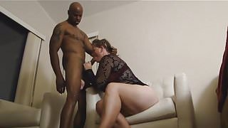 Big tit big ass wife cheats with BIG BLACK COCK PART 1