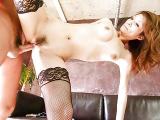 Passionate amateur casting during porn - More at Japanesemam