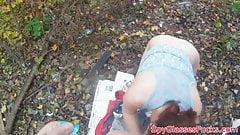 Cockriding babe filmed on spycam