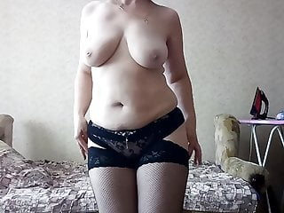 Sexy Mature Striptease
