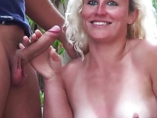 Hot milf and her younger lover 91