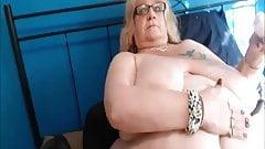 BBW masturbate