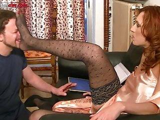 Maintenance Works - Pantyhose Foot Domination Trailer