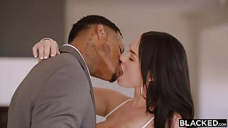 BLACKED Brunette loves rough bbc