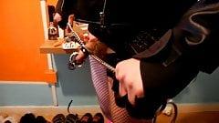 BDSM dance performance