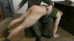 soldier ass spanking