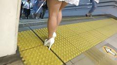 Sexy Legs Walk 044