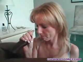 Cuckold sissys secrets revealed Cleaning up jizz after BBC b