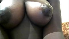 Noir skin Nubian with pussy natural big tits and great ass